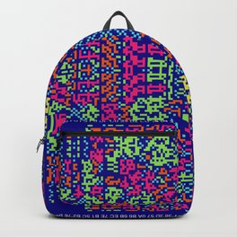 """""""Glitch"""" series #9 Backpack"""