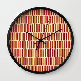 Dash Parade Wall Clock