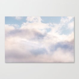 Mountains in the Clouds Canvas Print