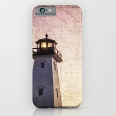 Lighthouse Map iPhone 6s Slim Case