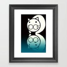 cat-268 Framed Art Print