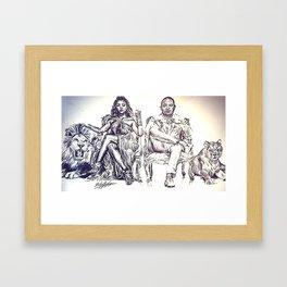 Fox Wednesday Framed Art Print