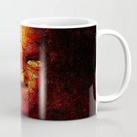 zombie Mugs featuring Zombie by Joe Ganech
