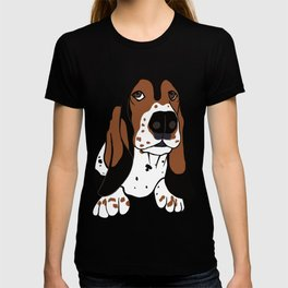 A Dog Mom and Her Basset Hound T-shirt