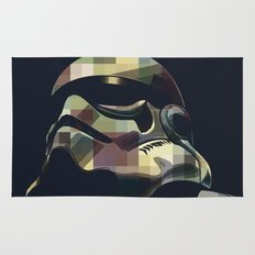 Star War | Storm Trooper Color Square * Movies Inspiration Rug