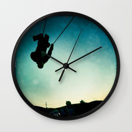 Swinging Wall Clock