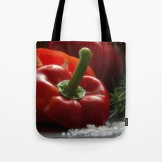 Peppers for biting Tote Bag