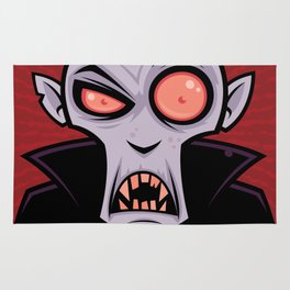 Count Dracula Rug