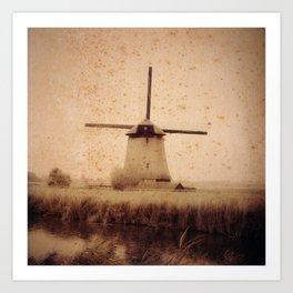 Vintage Mill Art Print