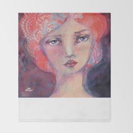 Folie by Jane Davenport Throw Blanket