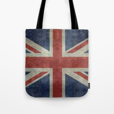 Union Jack (1:2 Version) Tote Bag