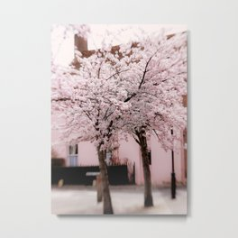 Candy Floss Explosion Metal Print