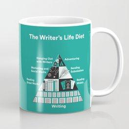 The Writer's Life Diet Coffee Mug