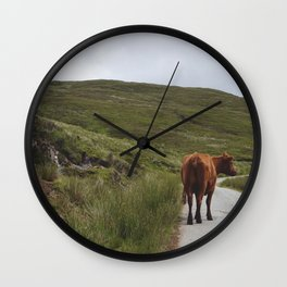 Excuse Me, Sir Wall Clock