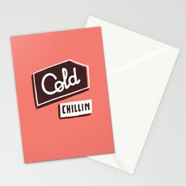 Cold Chillin Stationery Cards