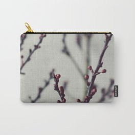Plum Branches Two Carry-All Pouch