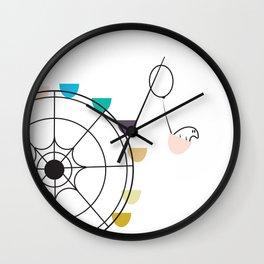 Ferris Wheel Adventure Wall Clock