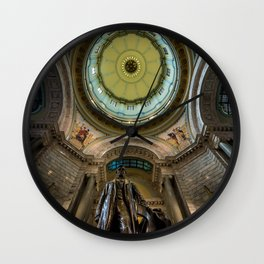 Kentucky Capital Rotunda - Abraham Lincoln - Frankfort Wall Clock