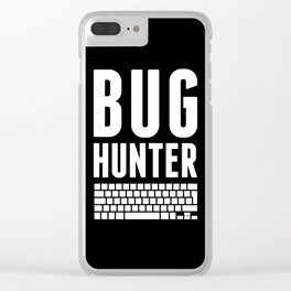 Bug Hunter Clear iPhone Case