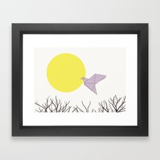 Being Free Framed Art Print