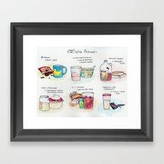 Cheap-Ass Wine Pairings Framed Art Print