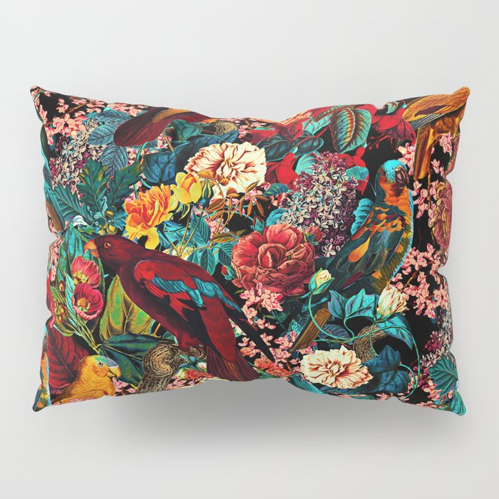 FLORAL AND BIRDS XVII Pillow Sham
