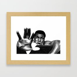 the greatest to ever do it Framed Art Print
