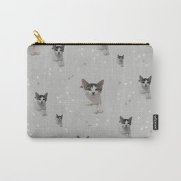 Cats Pattern.   cats, pattern, children, pet, feline, animals, Society6. Carry-All Pouch
