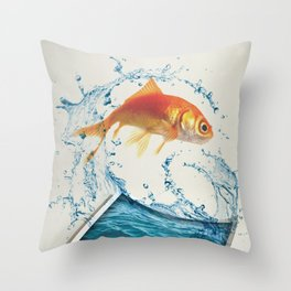 Two Dimensional Freedom Throw Pillow