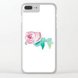 My Rose Clear iPhone Case