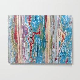 Peeling paint Metal Print