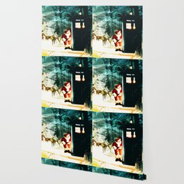 Keep Watching The Tardis Light Wallpaper