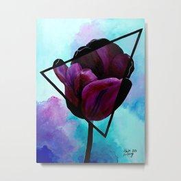Dark Tulip Metal Print
