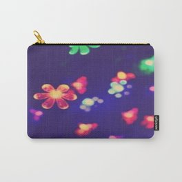 holiday floral Carry-All Pouch