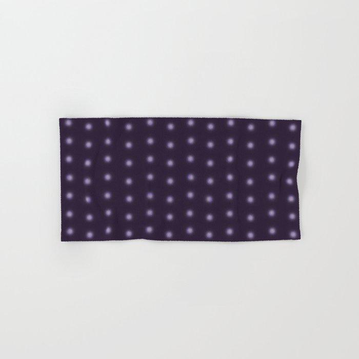 """Polka Dots Degraded & Purple shade of Grey"" Hand & Bath Towel"