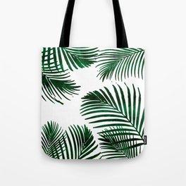 Tropical Palm Leaf Tote Bag