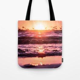 Mission Bay Shoreline in San Diego, California Tote Bag