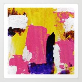 Abstract Expression No. 16 Art Print