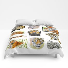 Big Cat Sticker Pack 1 Comforters