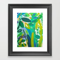 Between the branches. I Framed Art Print