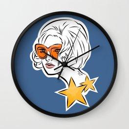 She's a Star Wall Clock