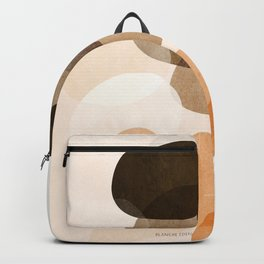 Wombs, Home Decor, Wall Art, Neutral Colors, Circles, Watercolor Backpack