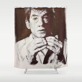 Sir McKellen Shower Curtain