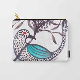 Blue-Winged Carry-All Pouch