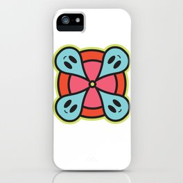 rain circle iPhone Case