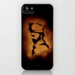 Axe Man iPhone Case