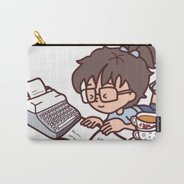 Books, tea and relax Carry-All Pouch