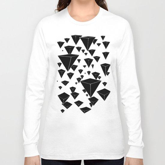 snowing pyramids II Long Sleeve T-shirt