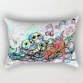 Rockin Octopus Rectangular Pillow