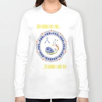stargate Long Sleeve T-shirts featuring Starscape 1 by spacemonkey89